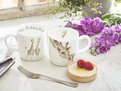 Royal Worcester Mug and Wax Lyrical Candle Gift Set