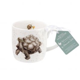 Portmeirion Home /& Gifts Wrendale  Aged To Perfection Tortoise Mug