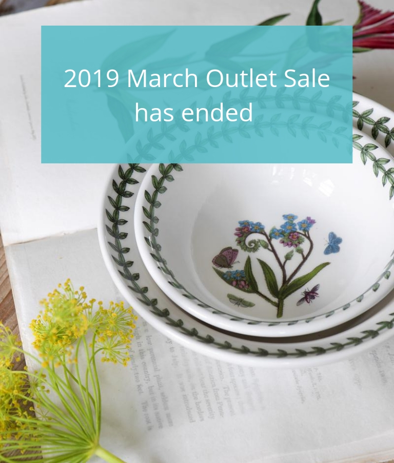 Portmeirion 2019 March outlet Sale Has Ended