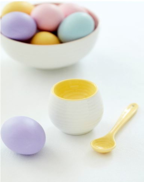 Sophie Conran for Portmeirion Colour Pop - Egg cup & spoon