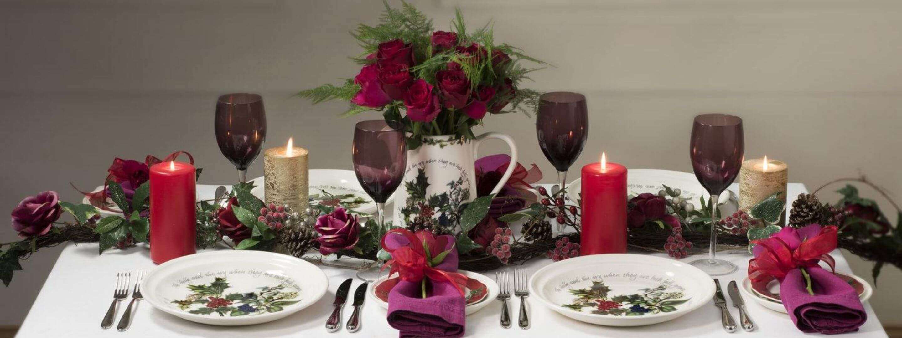 Portmeirion Christmas Dining Collections